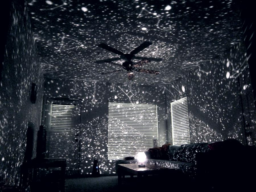 My New Star Projector Random Amazingness Bedroom