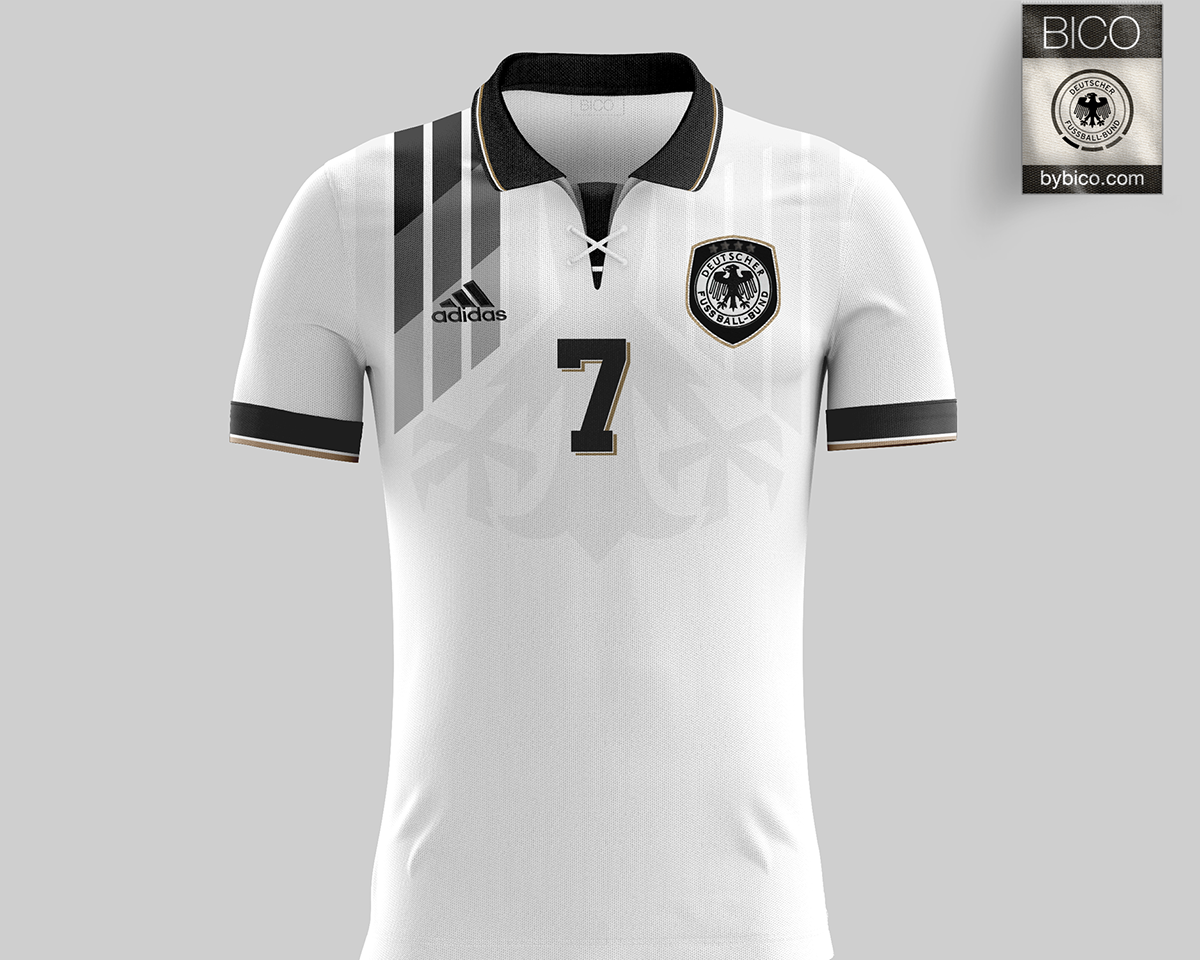 super popular ecb08 8e7ab Germany Kit - Die Mannschaft on Behance | Jersey Concept ...