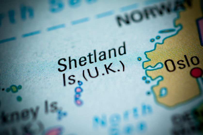 Shetland Islanders refuse to let mapmakers box them in #shetlandislands A map showing the Shetland Islands #shetlandislands