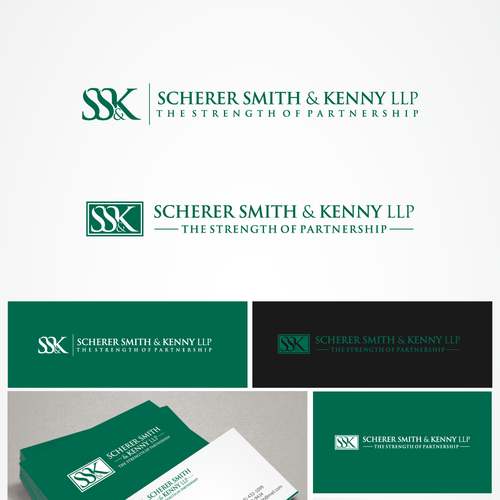 Help Scherer Smith & Kenny LLP with a new logo
