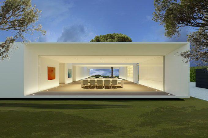 Modern villa design in spain contemporary home design for Minimal architettura