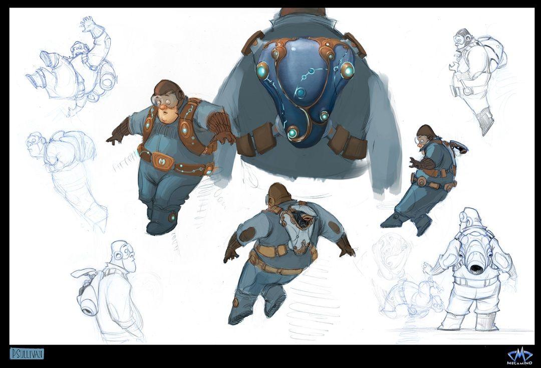 """Character Design Dreamworks : """"megamind dreamworks animation website"""