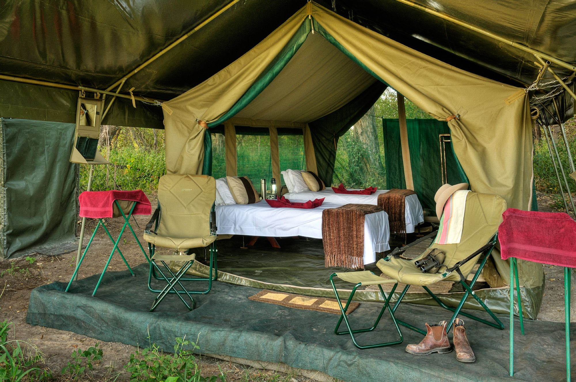 Great Image Of Luxury Camping