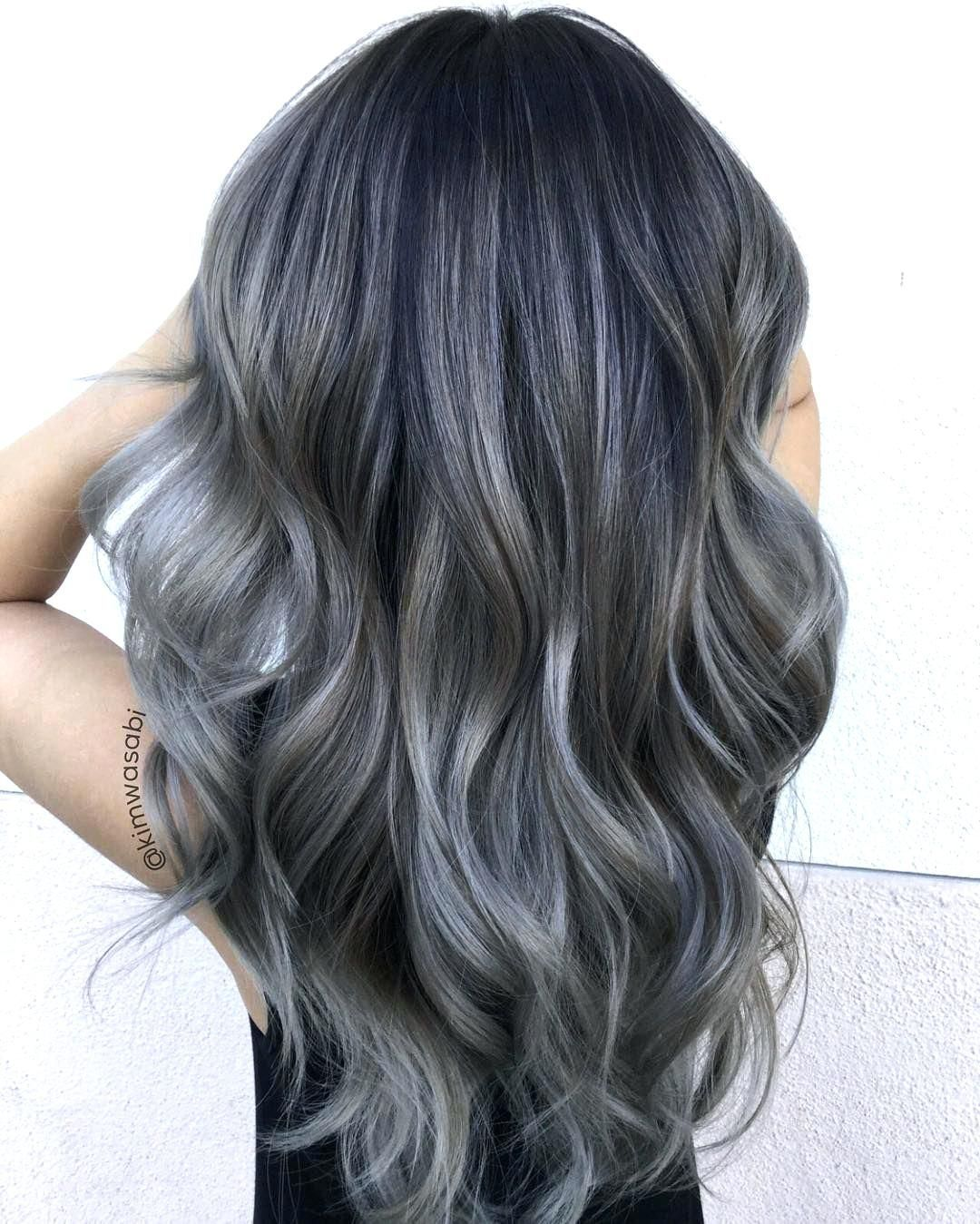 coloring grey hair dye red gray with henna and indigo light ...