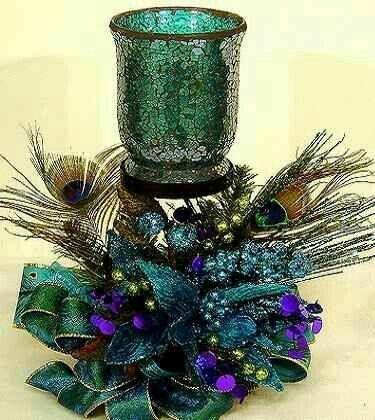 Pin by Kristi Cherry on Wedding Ideas Pinterest Christmas decor - peacock christmas decorations