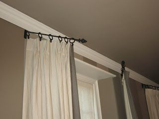 Swing Arm Curtain Rods Antique Curtain Rods Curtains Diy