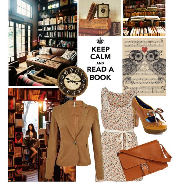Bookish Style, Librarian Style, Fashion