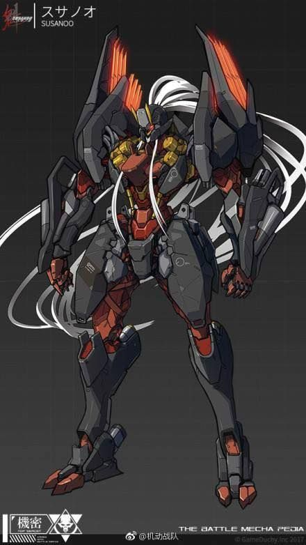 Pin By Darkok On Mech Mecha Suit Armor Concept Mecha Anime