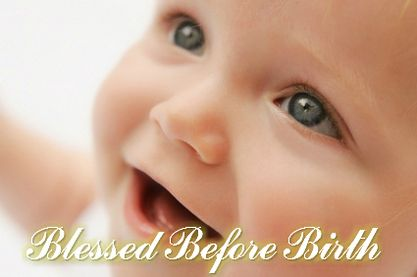 Blessed Before Birth - Over 30 Minutes of Faith Building Confessions and Soothing Music for your baby to listen to in the womb.  |  ChristianPregnancy.weebly.com