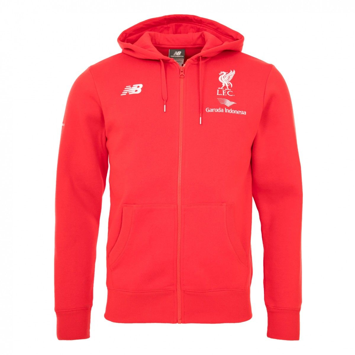 liverpool new balance red hoodie