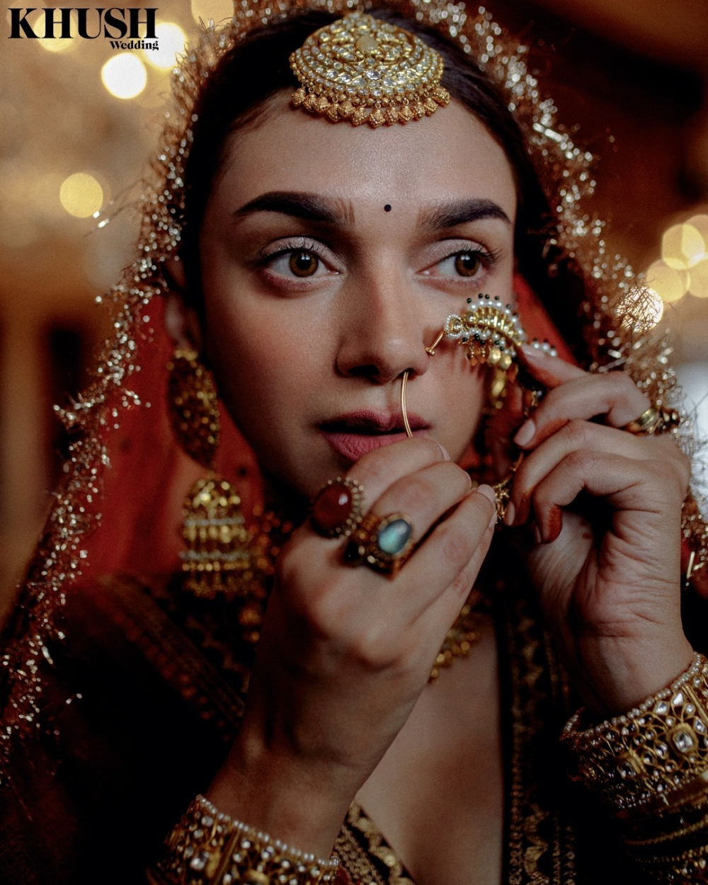 #Trending: Aditi Rao Hydari's Bridal Shoot For Sab