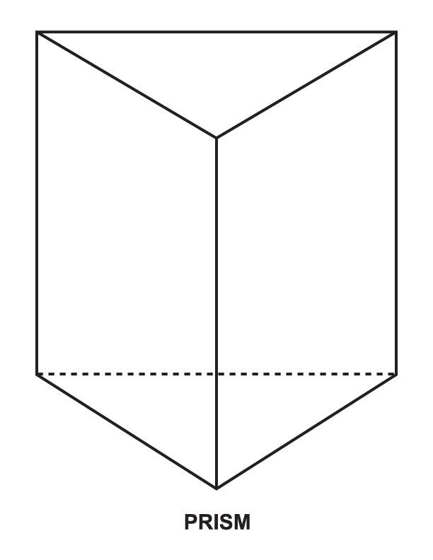 Prism Coloring Page Rectangular Prisms Coloring Pages