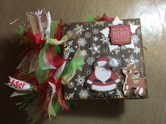 Echo Park The Story of Christmas Mini Chipboard Scrapbook Album in