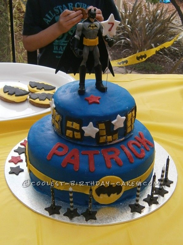 Coolest Batman Cake for 7 Year Old Boy | Batman cakes ...