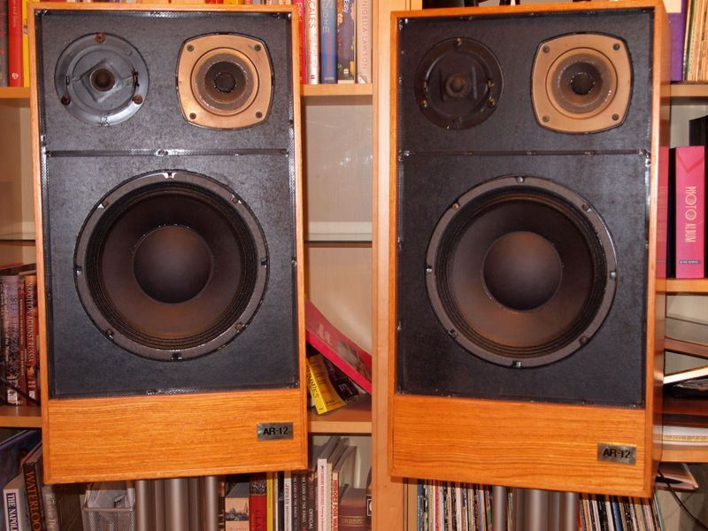 acoustic research, ar 12, loudspeakers, fabulous,genuinely rare,serious offers | eBay