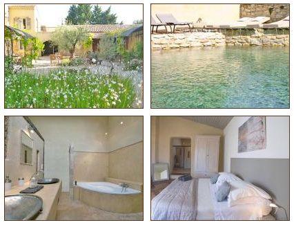 Cette maison d\u0027hôtes de Charme se trouve à 15 km d\u0027Avignon entre - Residence Vacances Ardeche Avec Piscine