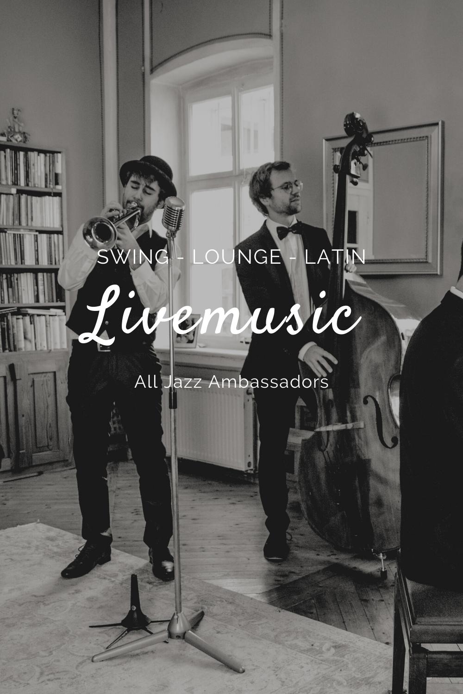 Die Perfekte Livemusik Fur Jede Veranstaltung Livemusik Jazz Lounge Musik