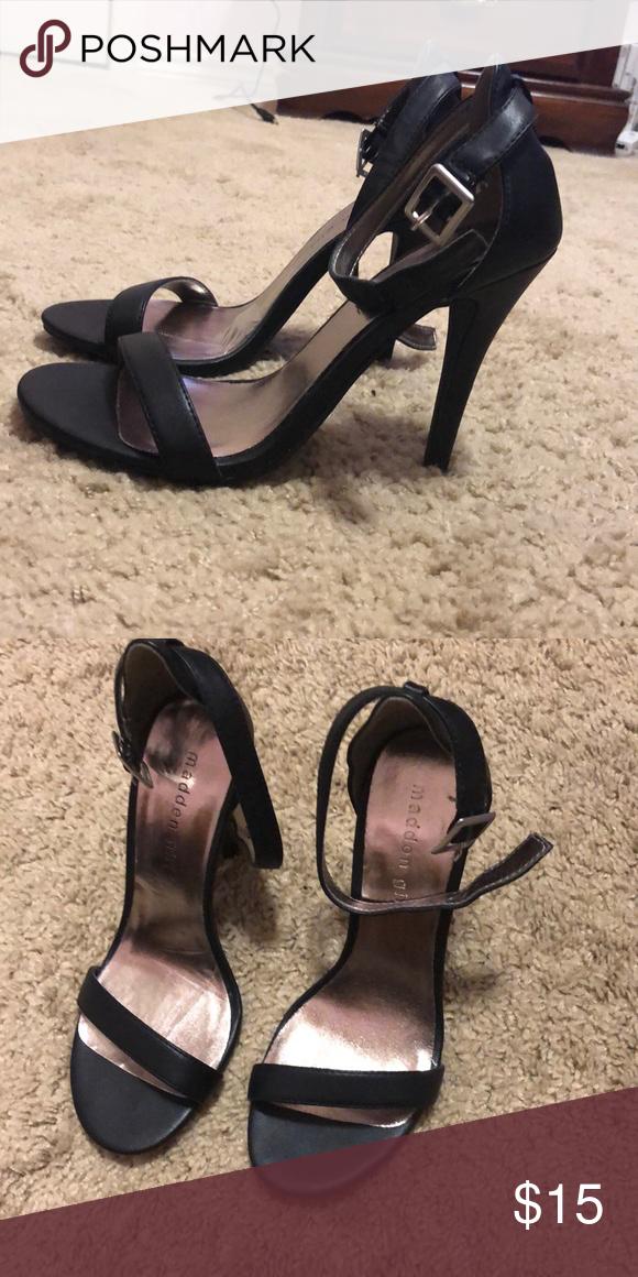 Black High Heel Shoes   Black high