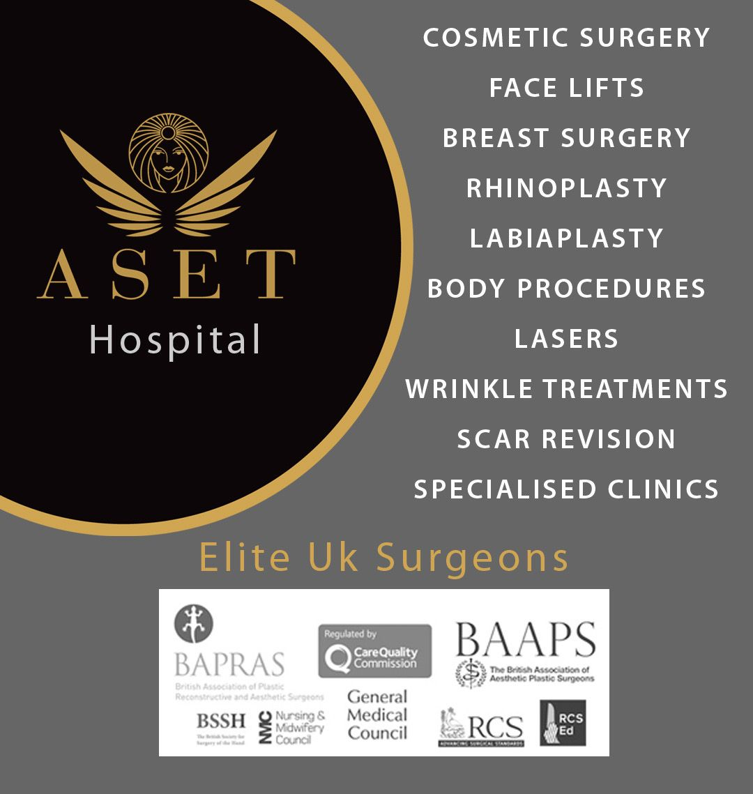 Aset Hospital Cosmetic Surgery Led By Elite Uk Surgeons Situated In Liverpool Uk Cosmetic Surgery Laser Wrinkle Treatment Wrinkle Treatment