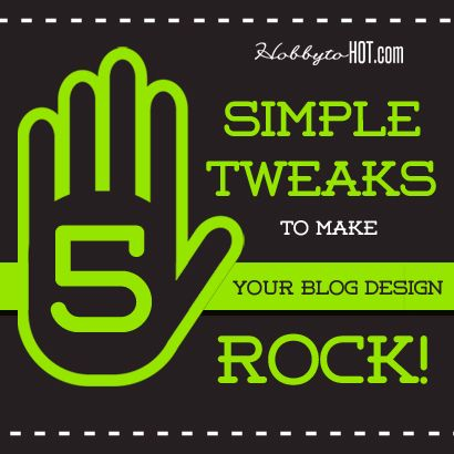 5 Blog Design Rules Every Blogger Should Be Using [Infographic] More from our website at http://hobbytohot.com/ #blogging #bloggingtips