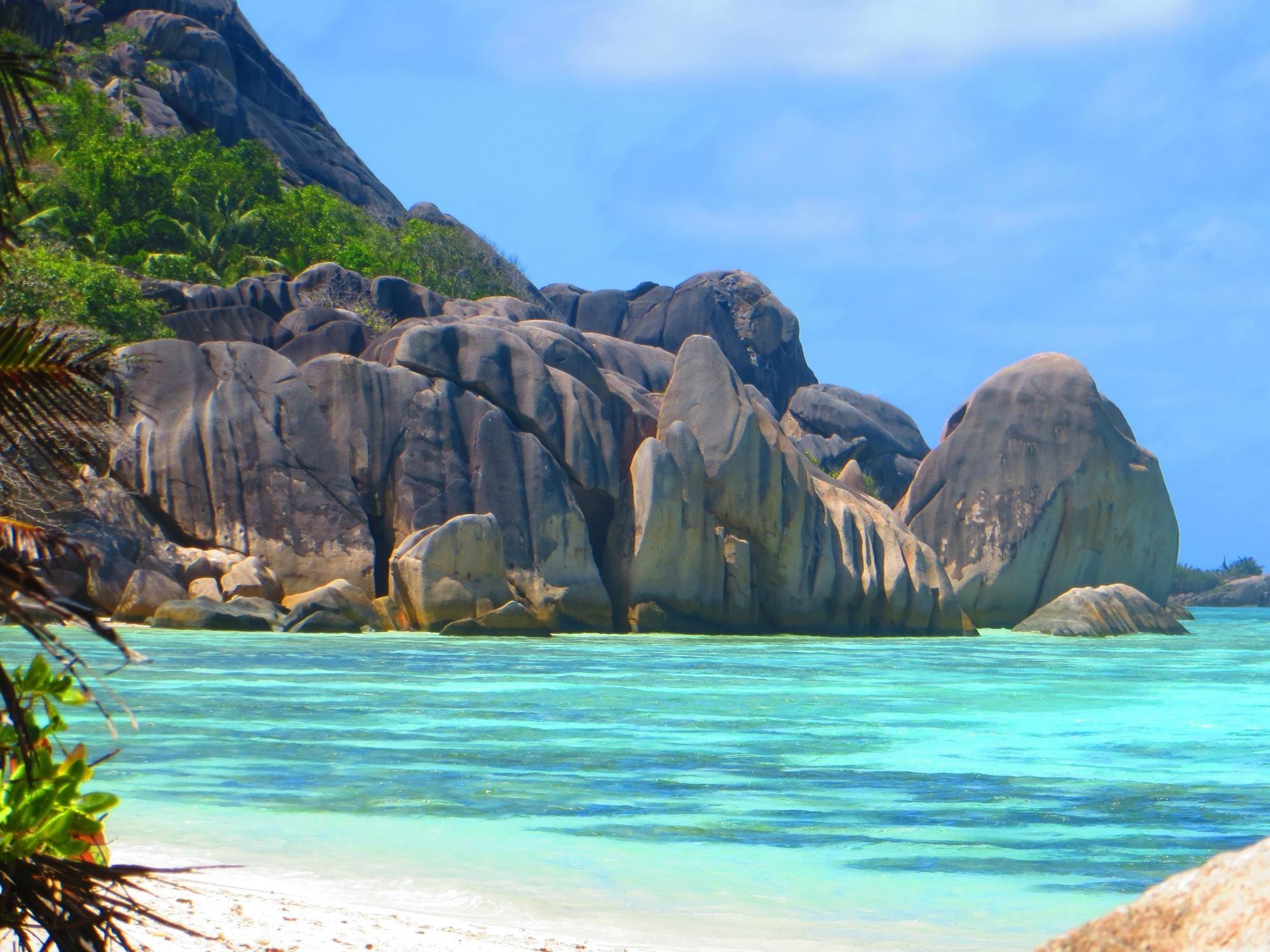 Anse Source D'Argent - Isla de La Digue, Seychelles.
