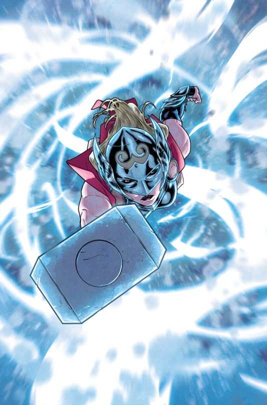 The Mighty Thor #5 p.18 by Russell Dauterman, colours by Matt Wilson *