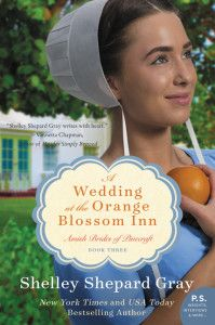Enter to win a copy of A Wedding at the Orange Blossom Inn by Shelley Shepard Gray