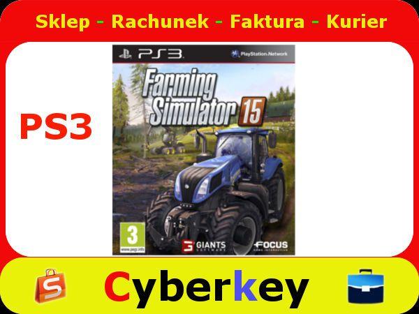 Farming Simulator 15 2015 Ps3 Pl Farming Simulator Farm Simulation