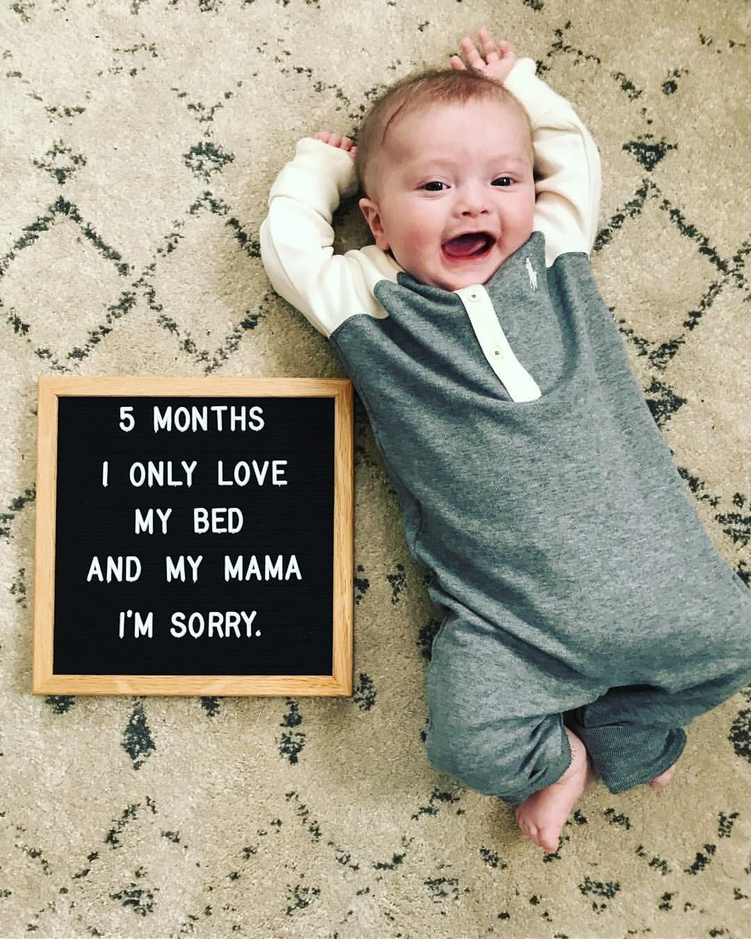 Drake quotes for the letter board 😂 Baby milestones