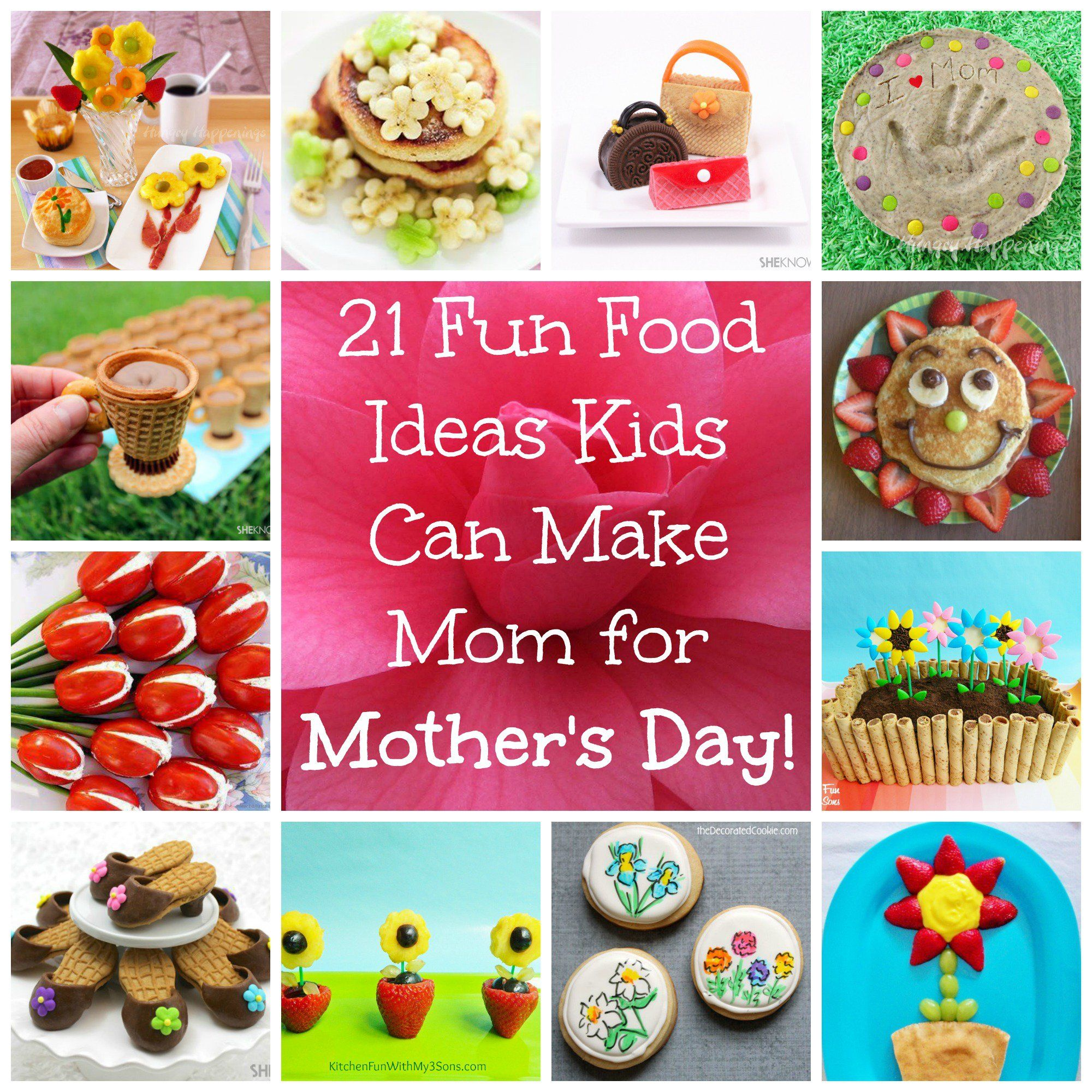 21 Recipes And Desserts That Kids Can Make For Mother S Day