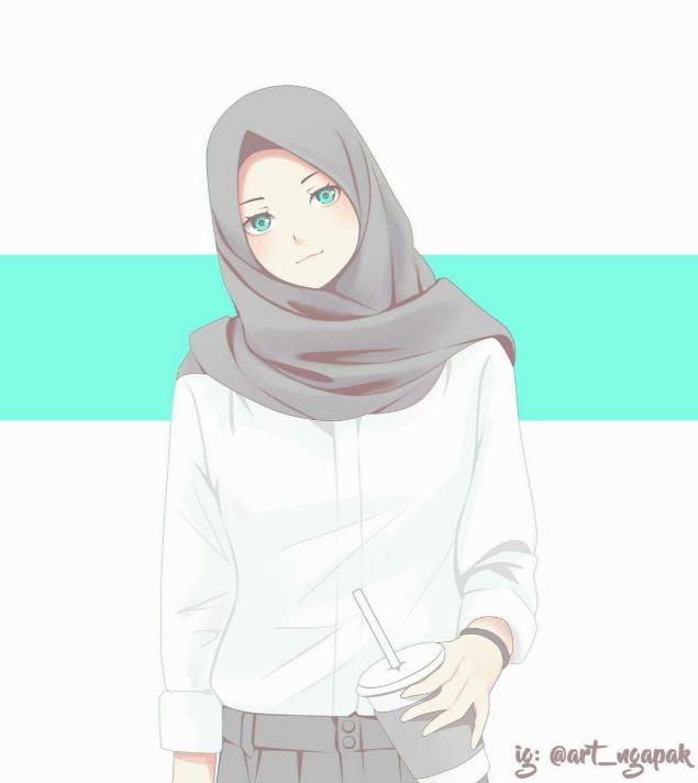 Pin oleh Nisa' Aulia di Anime na + Kartun, Gadis animasi