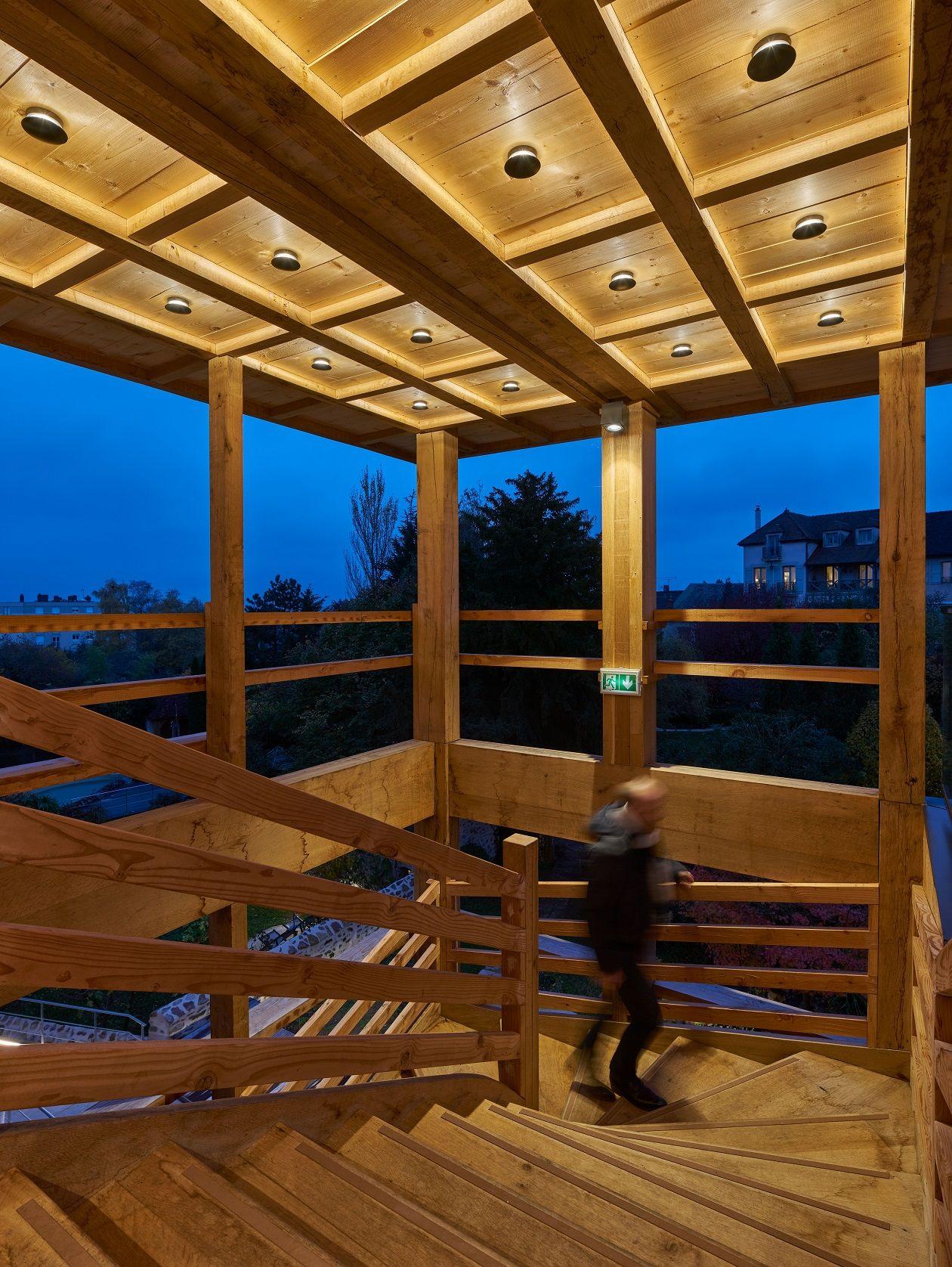 Villa Loiseau Des Sens Saulieu France Architectural Project Atelier Correia Architectes As Architecture Lumiere Eclairage Exterieur