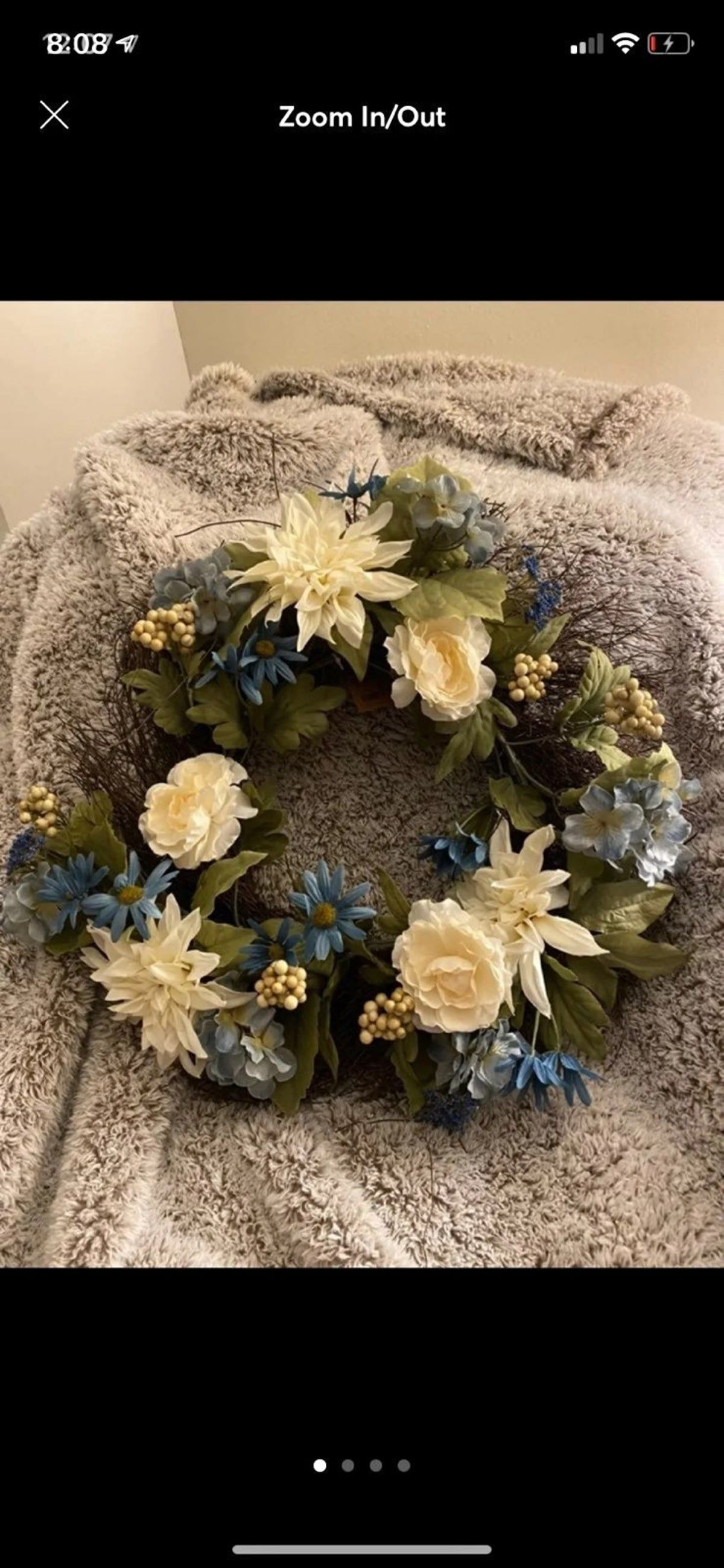 Gather by Nicole spring wreath #wreath #springdecor #easter