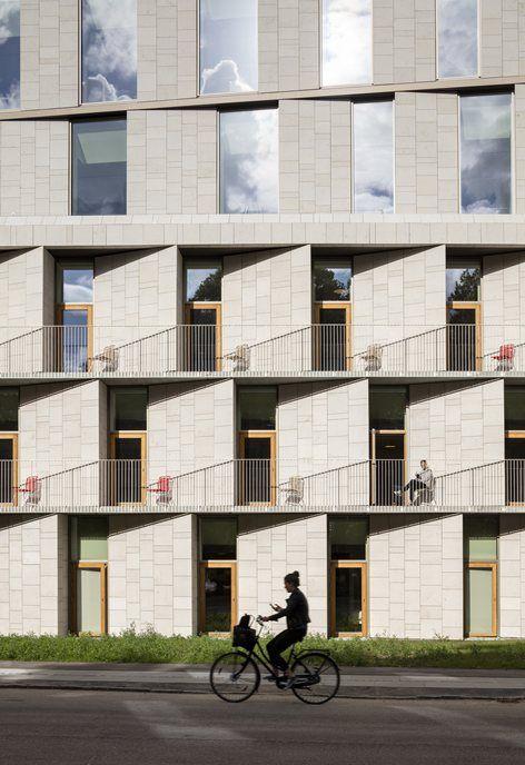 nowy pacjent hotel administration building rigshospitalet w kopenhadze 2015 3xn architekci