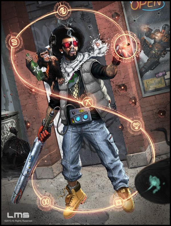 Mystic Adept Shadowrun Character Portraits Jdr Personnage Und
