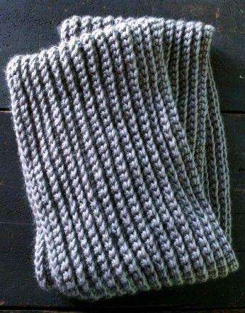 Crochet Stitch That Looks Like Knit Instructions Free Pattern