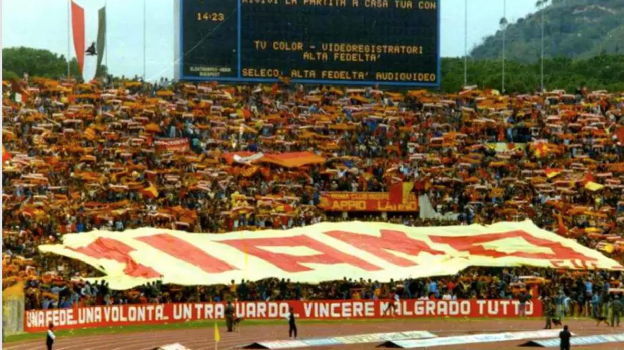 LazioRoma 02, 23101983 Derby, Calcio, Roma