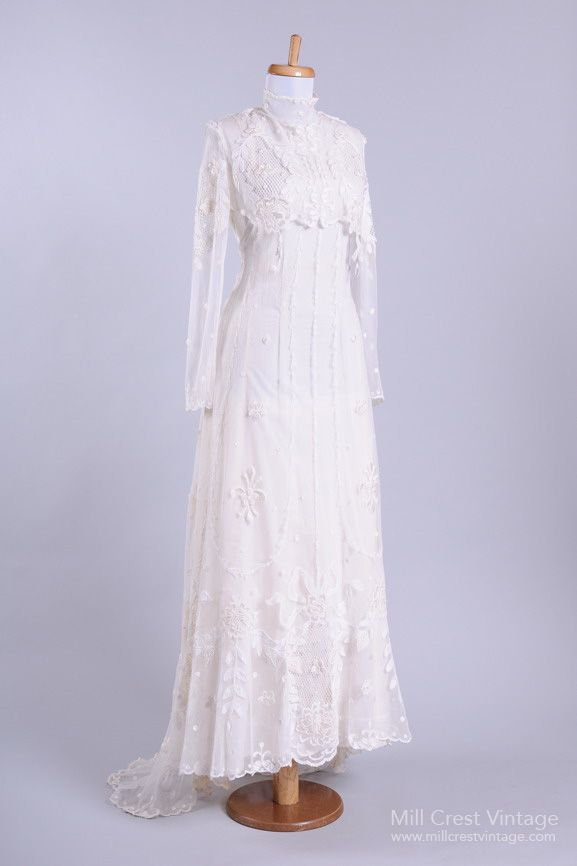 My Fair Lady Lace Vintage Wedding Gown Mill Crest Vintage Lace Wedding Dress Vintage Wedding Gowns Vintage Buy Wedding Dress Online