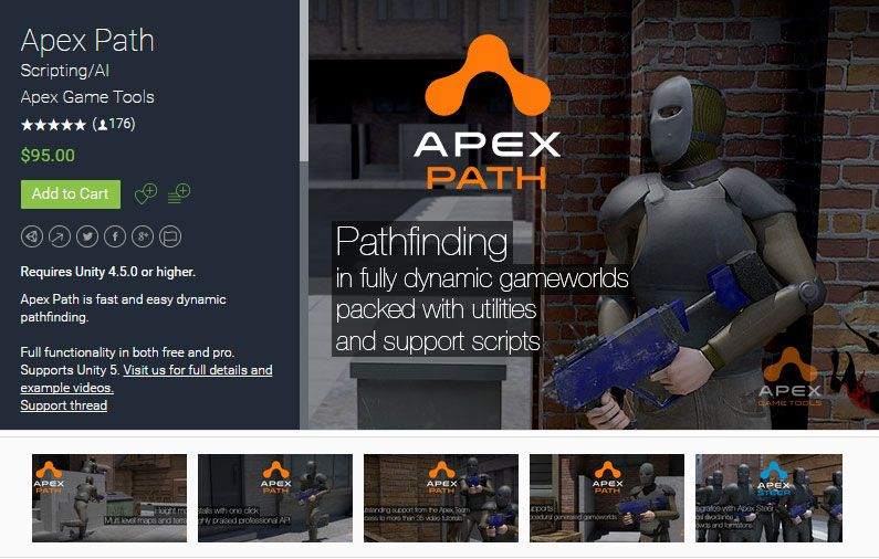 Apex Path Unity Asset Store Unreal Engine Unity Games #tCubedLibrary