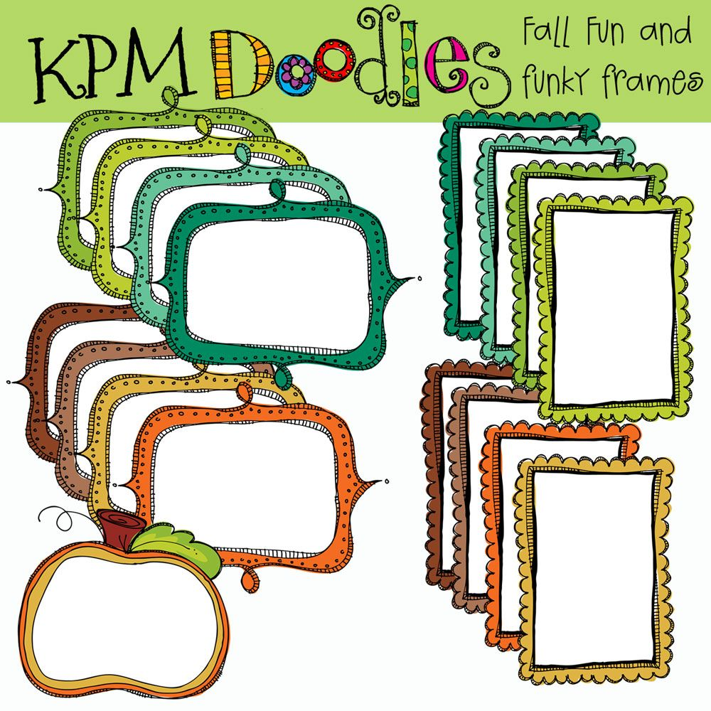 KPM Doodles - fun clipart :) | Labels, tags & binders! OH MY ...