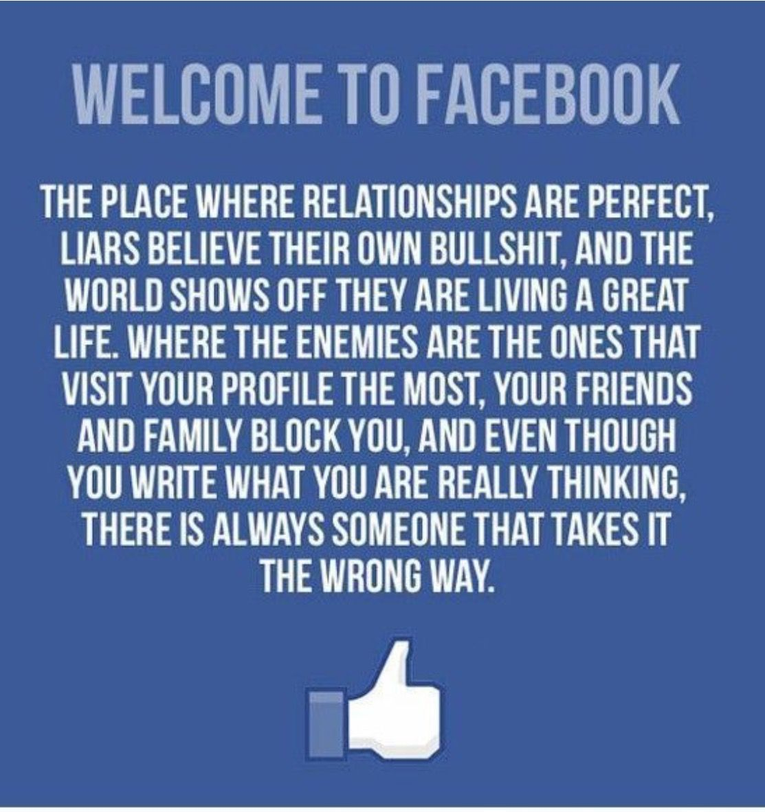 Life Without Facebook Funny Images With Quotes Funny Quotes Facebook Humor