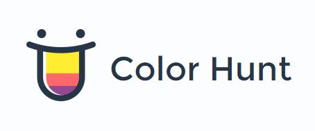 Color Hunt logo   Brand   Logos, Palette, Color