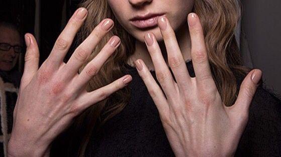 Skin color nail polish