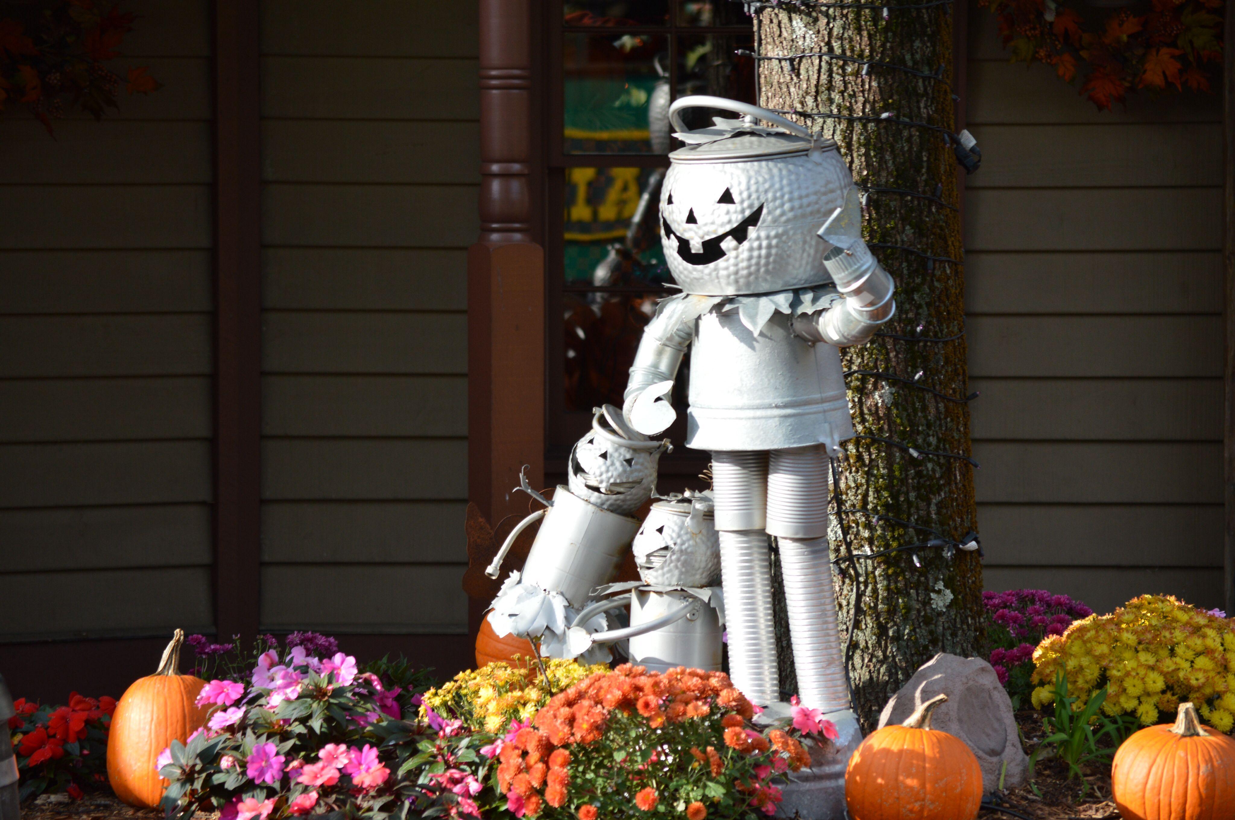 Pumpkin man decoration | Tweetsie Railroad | Pinterest ...