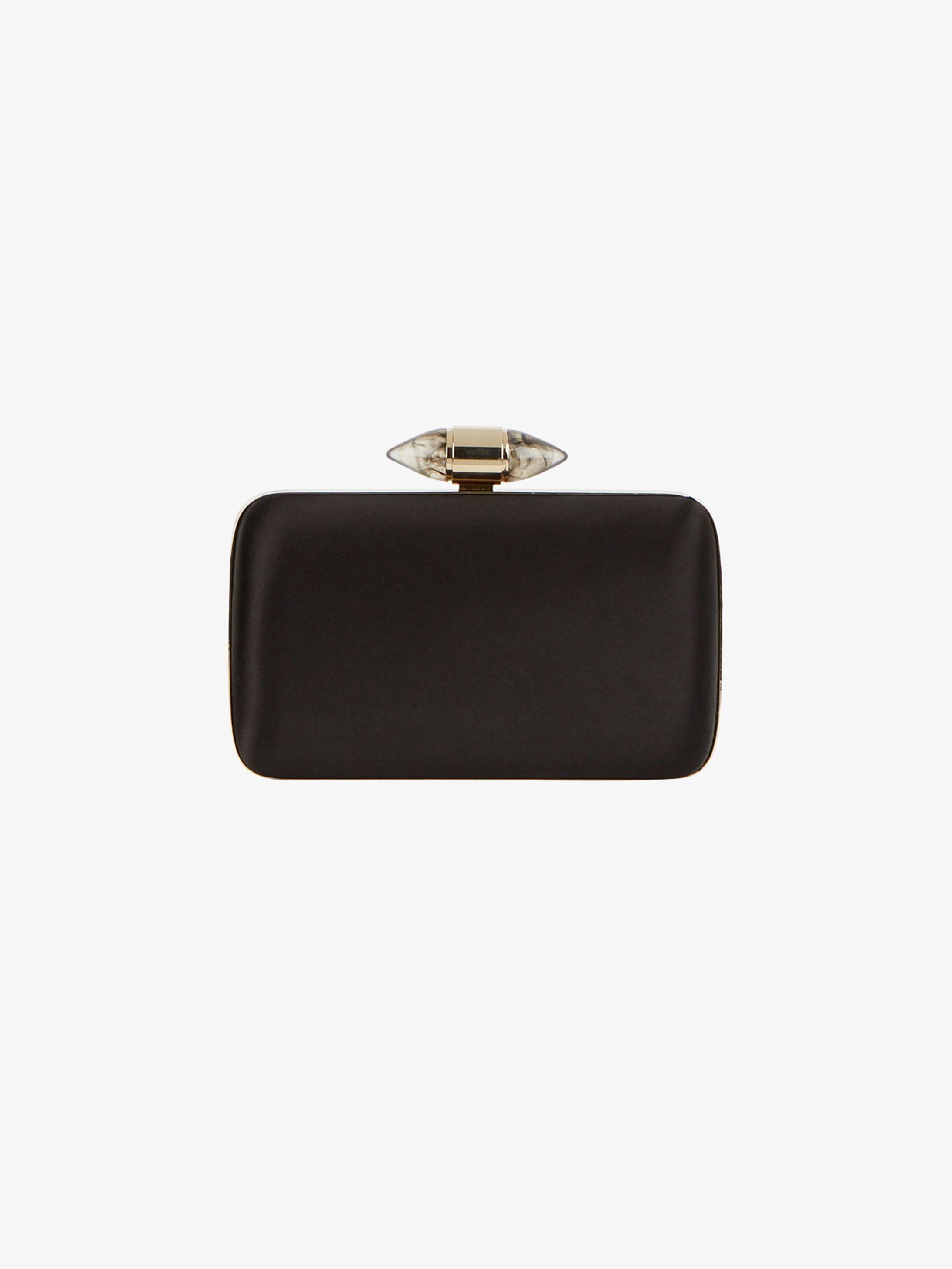 Givenchy Black Satin Clutch with Jewel Clasp..  Givenchy  clutch  purse   satin  accessorise  MeghanMarkle  MarkleSparkle DuchessofSussex   RoyalVisit2018 ... b2fb6e5769289
