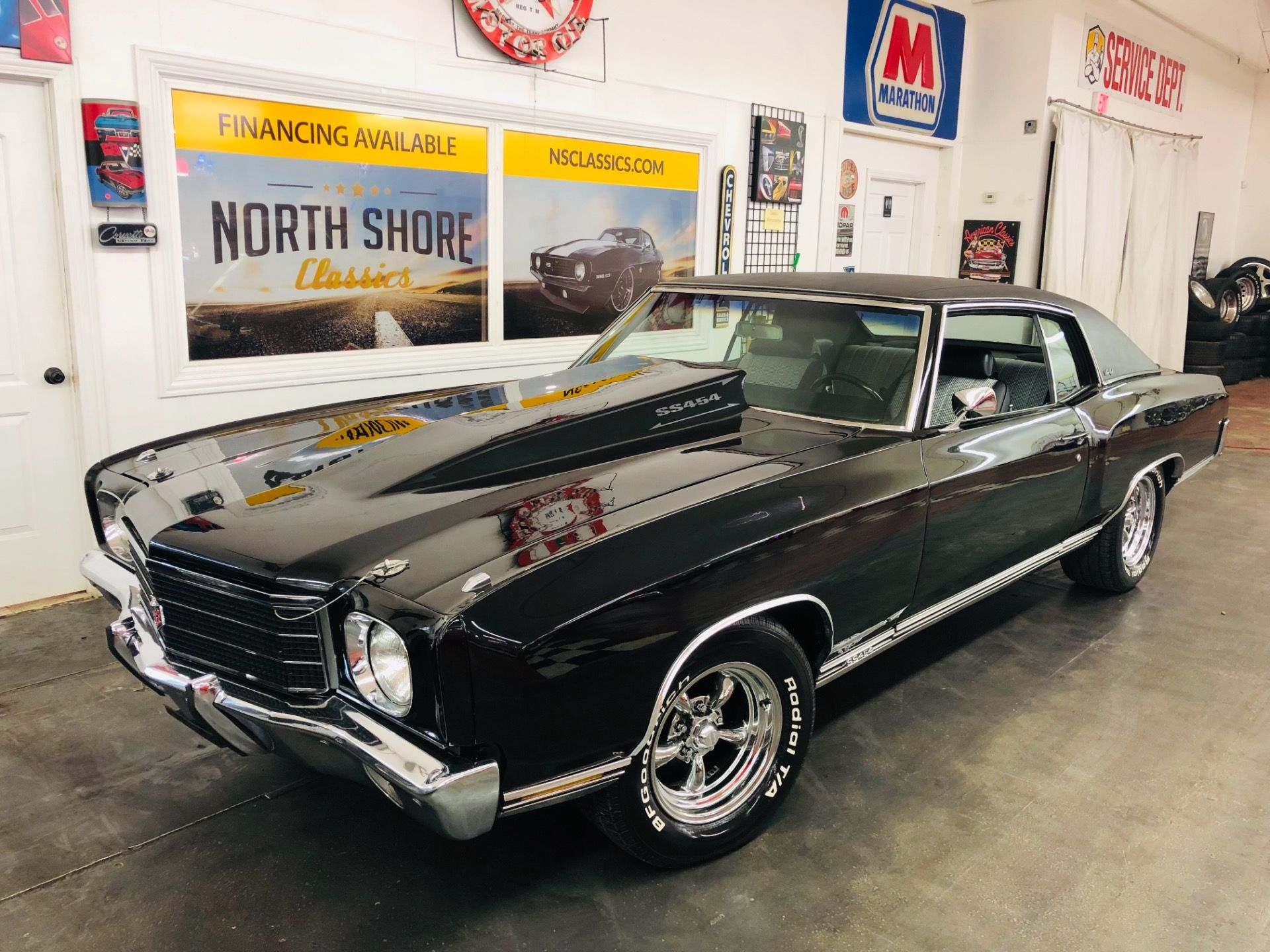 1970 Chevrolet Monte Carlo Big Block 454 Black Reliable Muscle