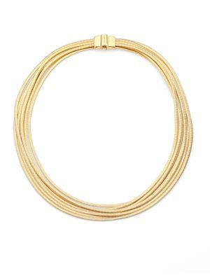 Marco Bicego - Lunaria 18K Yellow Gold Necklace - Saks.com