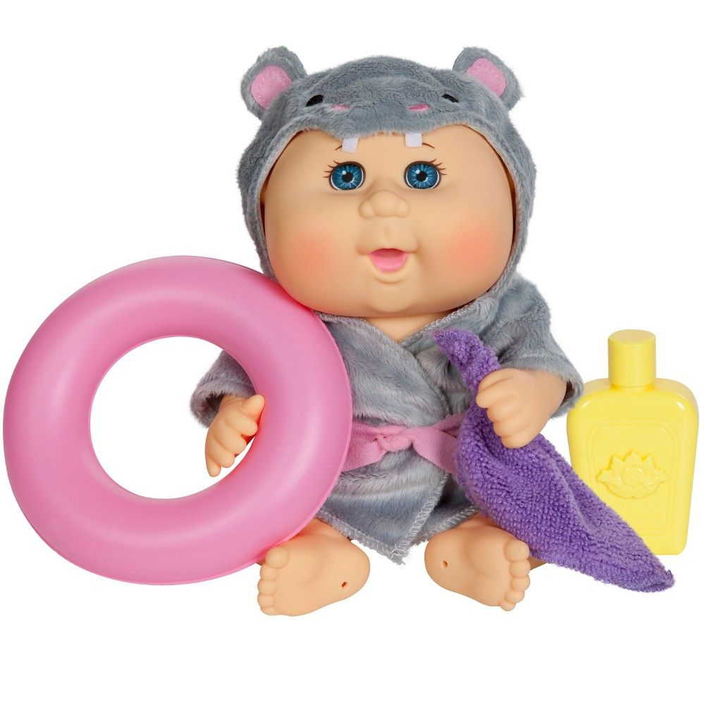 961acca09ada8 Get your little one super excited for bath time with the Bathtime Baby Doll  from Cabbage Patch Kids. This blue-eyed newborn baby doll comes wrapped up  in a ...