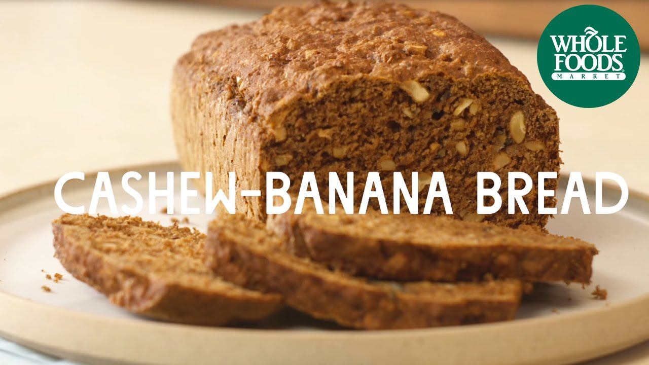 Recipe cashew banana bread l whole foods market yumm ix recipe cashew banana bread l whole foods market forumfinder Image collections