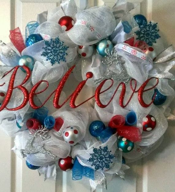 With less than 4 months until Christmas, someone has Christmas on their mind too! This is a made to order beauty that measures over 32 inches wide. She